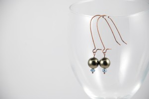 Linda Danforth Pearl Earrings