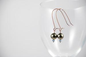 Linda Danforth Pearl Earrings